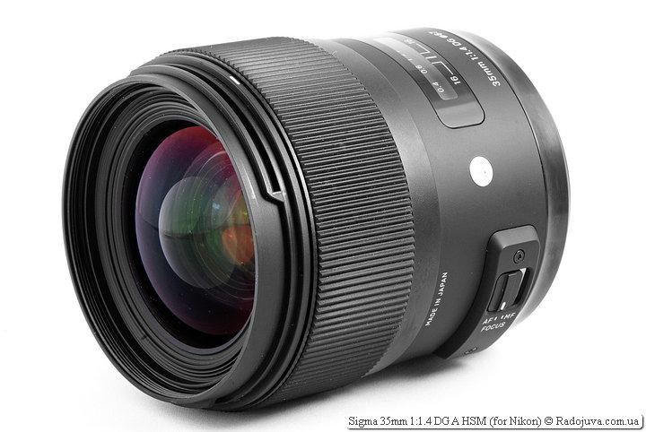Sigma 35mm 1: 1.4 DG A HSM Review