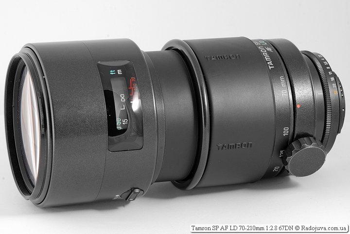 Обзор Tamron SP AF LD 70-210mm 1:2.8 67DN