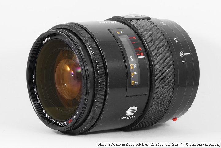 Minolta Maxxum Zoom AF Lens 28-85 mm 3