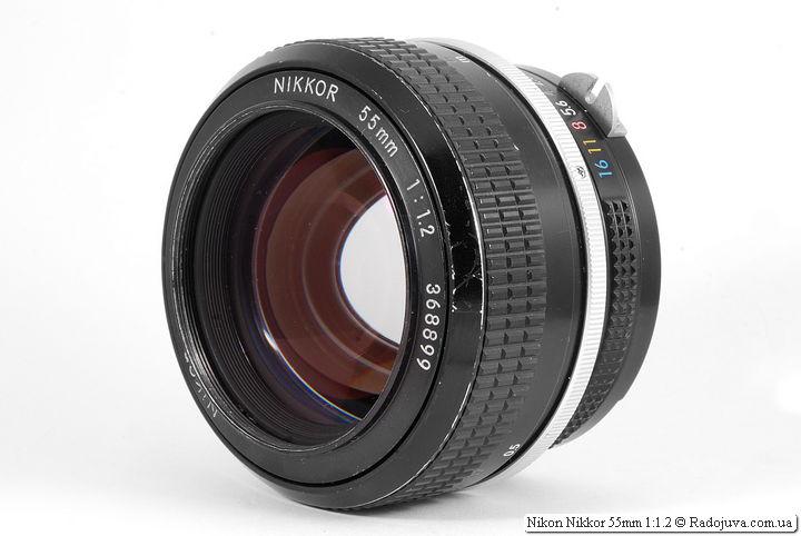 Обзор Nikon Nikkor 55mm 1:1.2