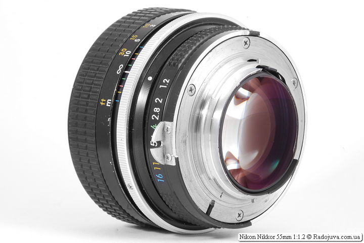 Nikon Nikkor 55mm 1:1.2