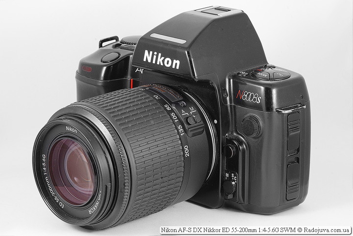 Nikon AF-S DX Nikkor ED 55-200mm 1:4-5.6G SWM