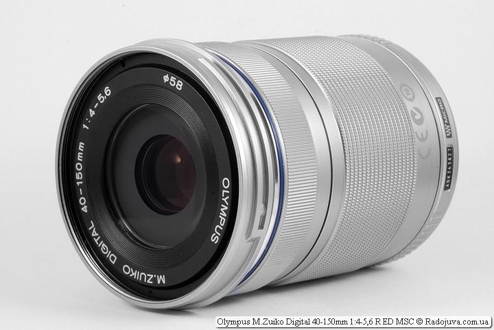 Обзор Olympus M.Zuiko Digital 40-150mm 1:4-5,6 R ED MSC