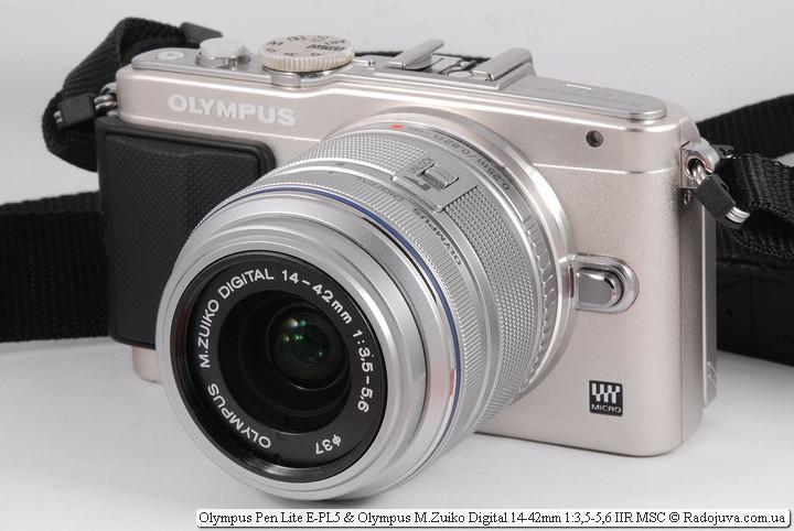 Обзор Olympus Pen Lite E-PL5