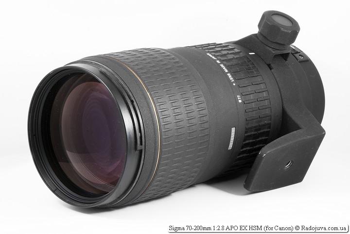 Обзор Sigma 70-200mm 1:2.8 APO EX HSM