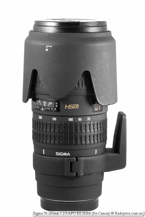 Sigma 70-200mm 1:2.8 APO EX HSM