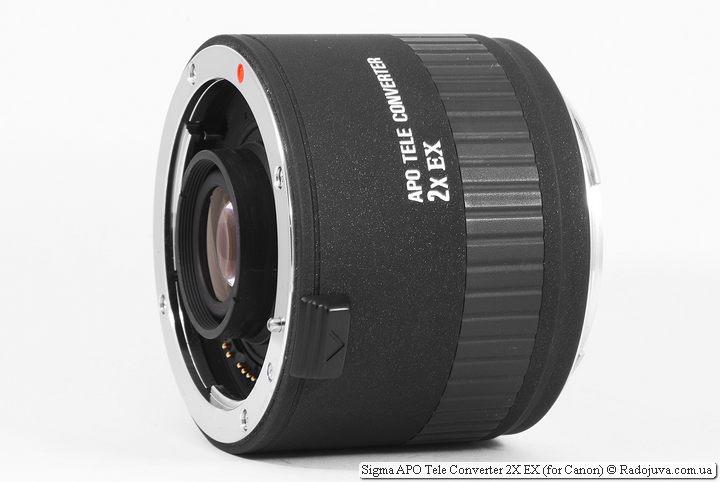 Обзор Sigma APO Tele Converter 2X EX
