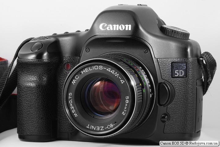 Купленная камера