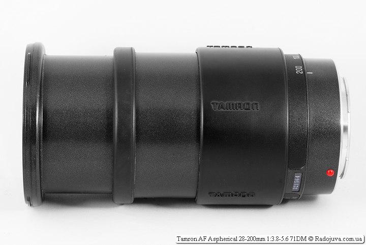 Tamron AF Aspherical 28-200mm 3.8-5.6 71D M