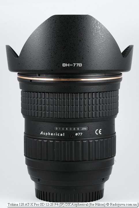 Обзор Tokina 128 AT-X Pro SD 12-28 F4 (IF) DX Aspherical (for