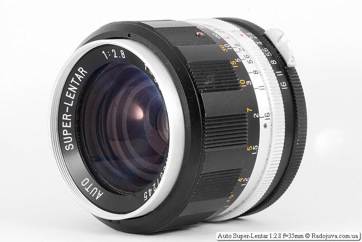 Обзор Auto Super-Lentar 1:2.8 f=35mm