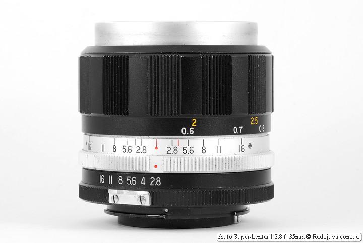 Auto Super-Lentar 1:2.8 f=35mm