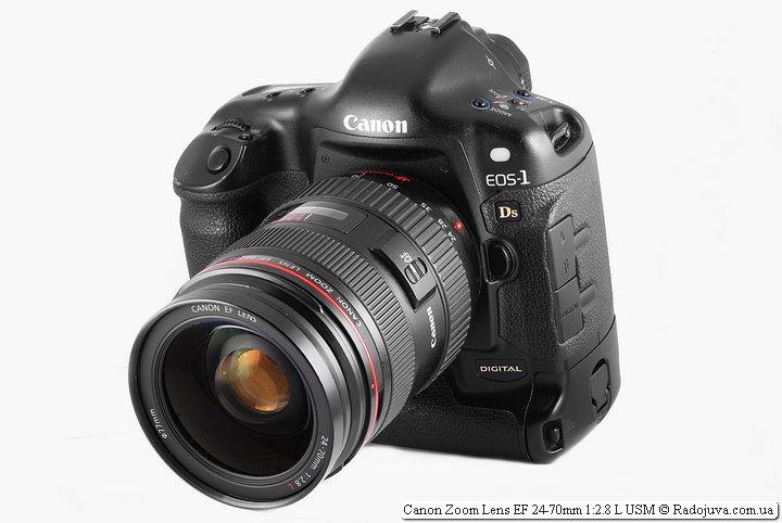 Canon Zoom Lens EF 24-70mm 1:2.8 L USM