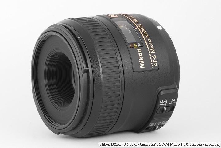Обзор Nikon DX AF-S Micro Nikkor 40mm 1:2.8G SWM