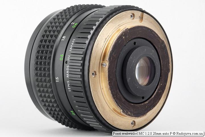 Porst weitwinkel MC 1:2.8 28mm auto F