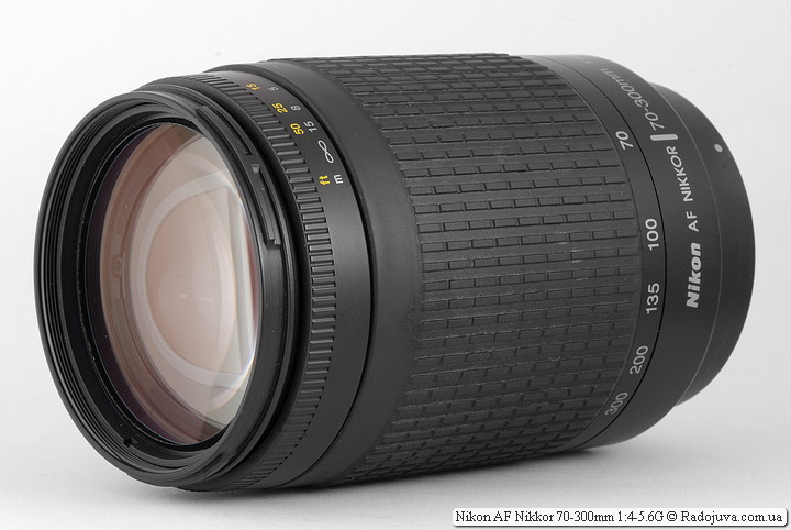 Обзор Nikon AF Nikkor 70-300mm 1:4-5.6G