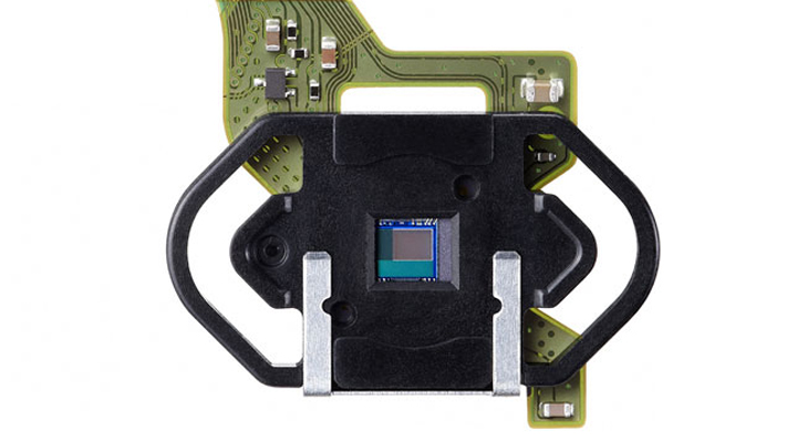 Exposure sensor view for canon 1dx camera