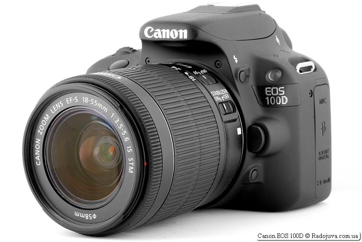 Canon EOS 100D с Canon Zoom Lens EF-S 18-55mm 1:3.5-5.6 STM