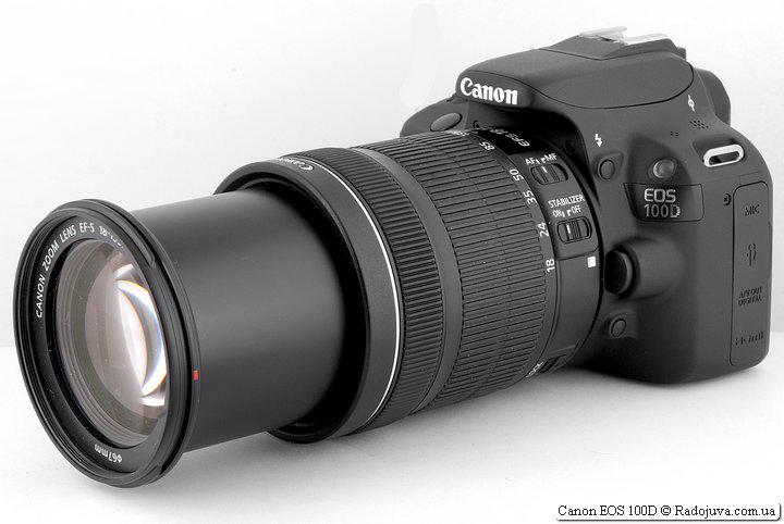 Canon 100D с объективом Canon Zoom Lens EF-S 18-135mm 1:3.5-5.6 IS STM