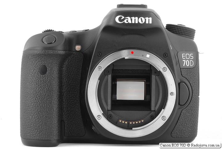 Обзор Canon 70D