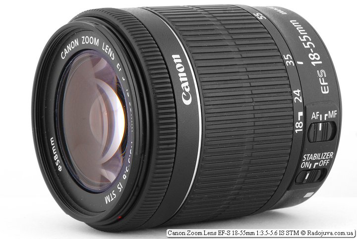 Обзор Canon Zoom Lens EF-S 18-55mm 1:3.5-5.6 IS STM