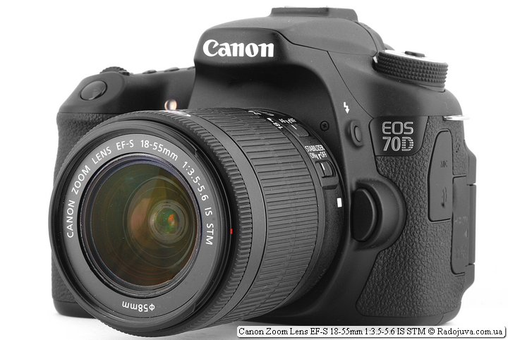 Canon EF-S 18-55 3.5-5.6 IS STM