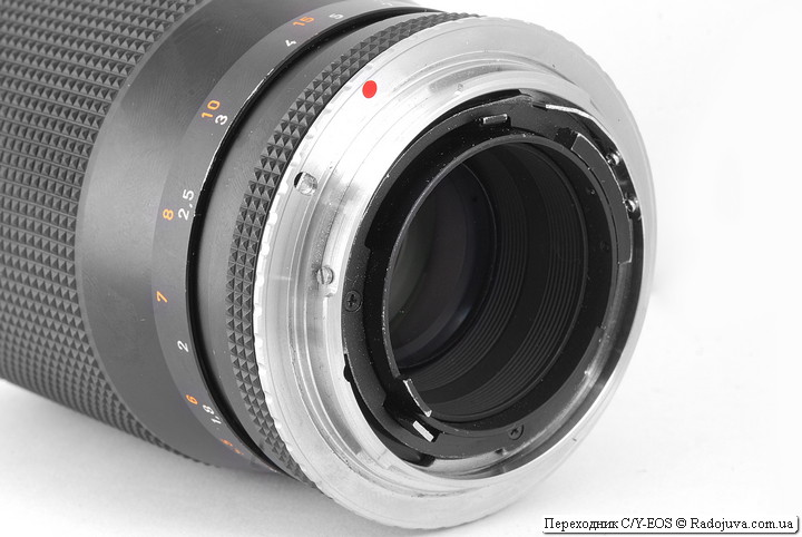 Переходник Contax/Yashica-Canon EOS