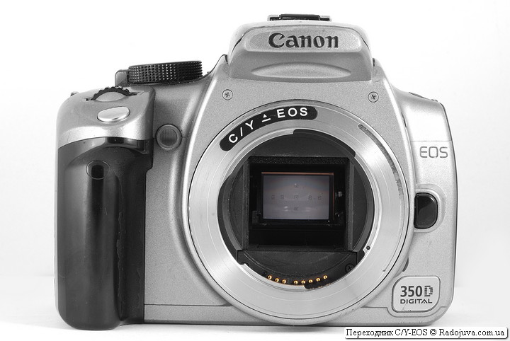 Переходник Contax/Yashica - Canon EOS