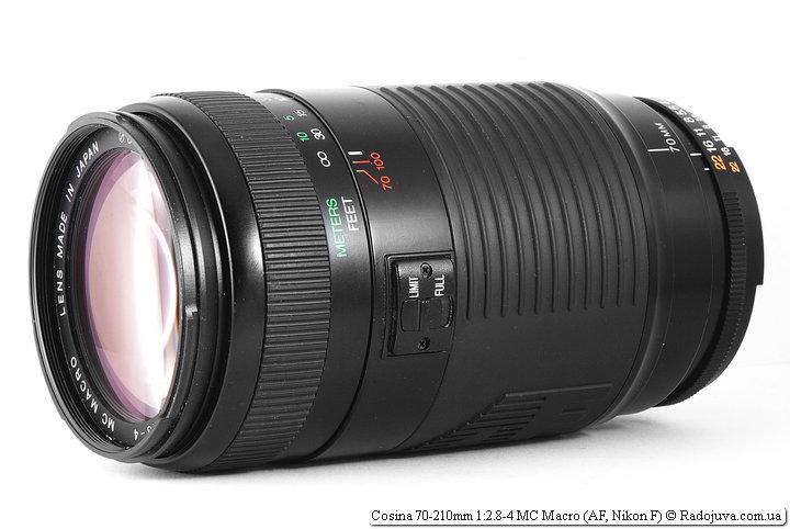 Обзор Cosina 70-210mm 1:2.8-4 MC Macro