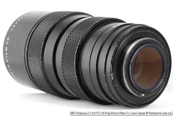 EBC Fujinon.Z 4.5 75-150 Fuji Photo Film Co. Lens Japan