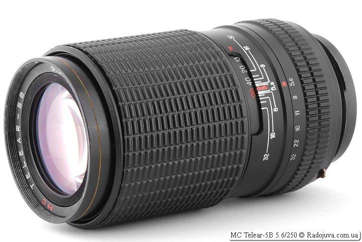 Обзор MC Telear-5B 5.6/250