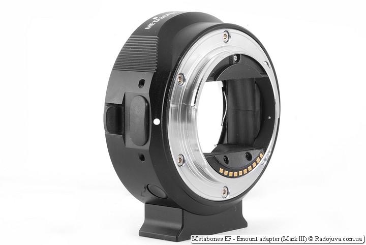 Metabones EF-E mount adapter (Mark III)