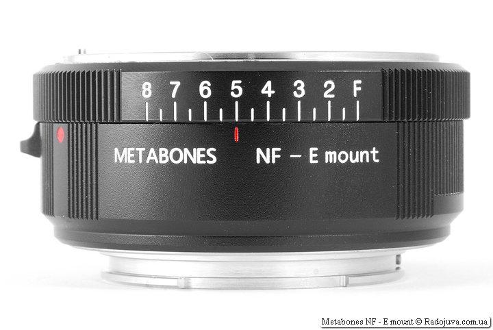 Адаптер Metabones NF - E mount