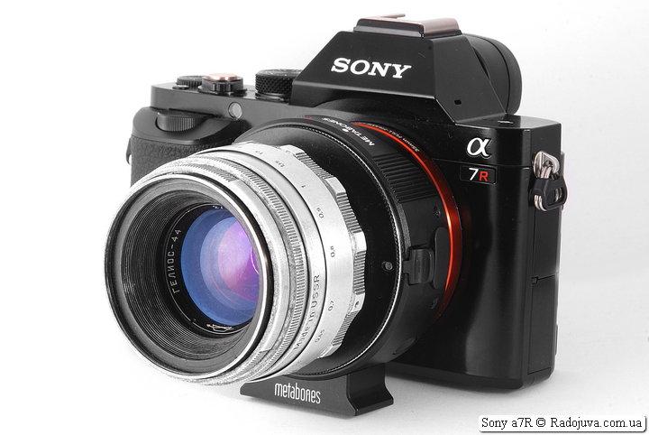 Sony a7R с объективом Гелиос-44 2/58