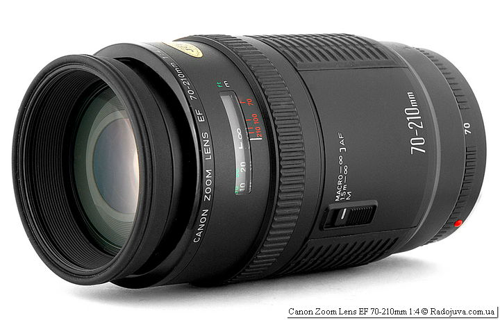 Обзор Canon Zoom Lens EF 70-210mm 1:4