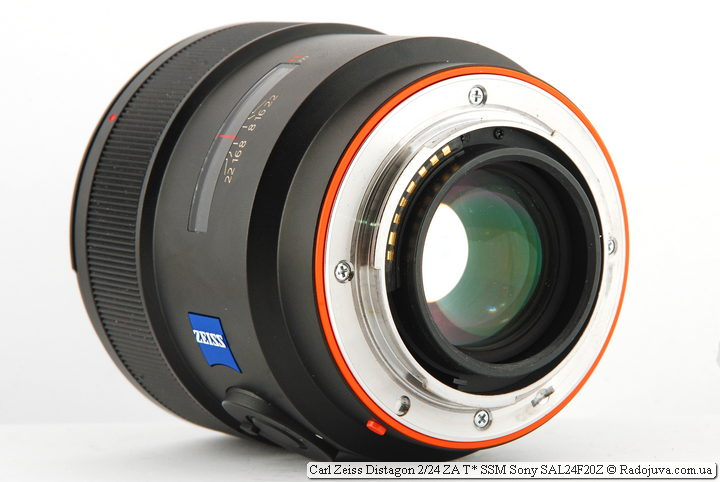 Carl Zeiss Distagon 2/24 ZA T* SSM Sony SAL24F20Z
