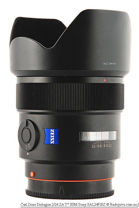 Carl Zeiss Distagon 2/24 ZA T* SSM Sony SAL24F20Z