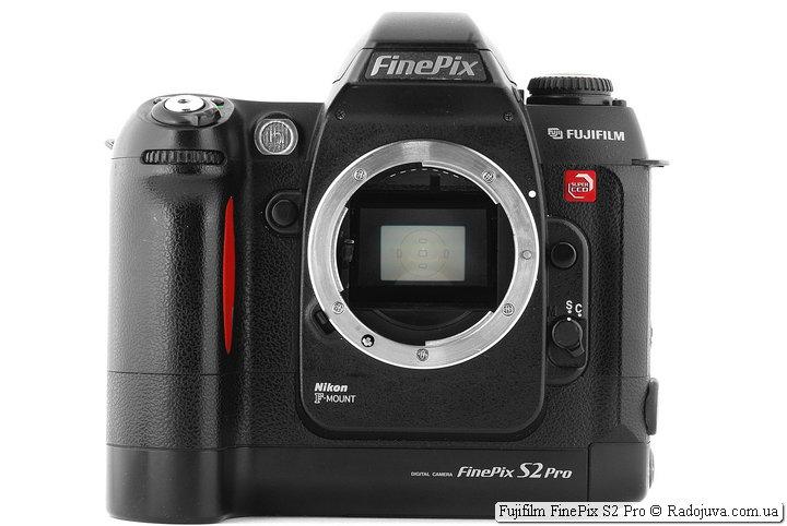 Обзор Fujifilm FinePix S2 Pro