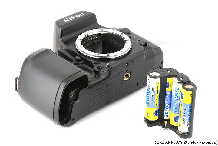 Батарейный отсек и держатель батареек MS-7 Nikon AF N8008s