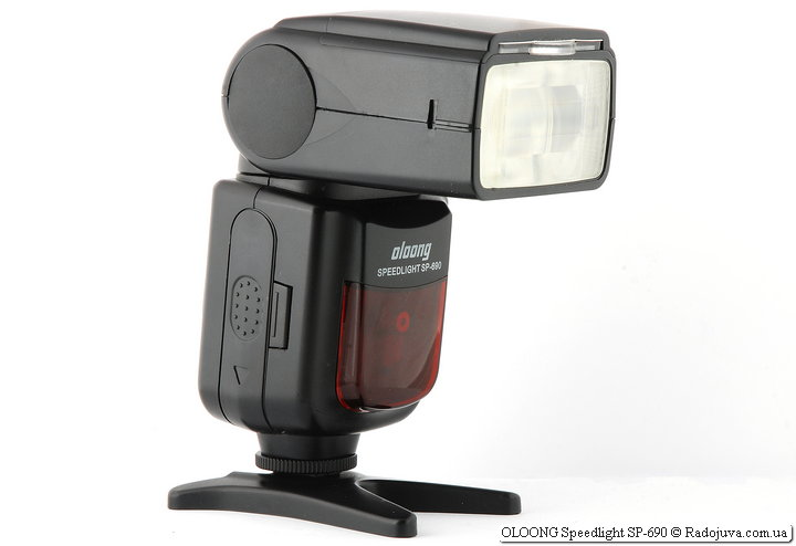 Обзор Oloong Speedlight SP-690