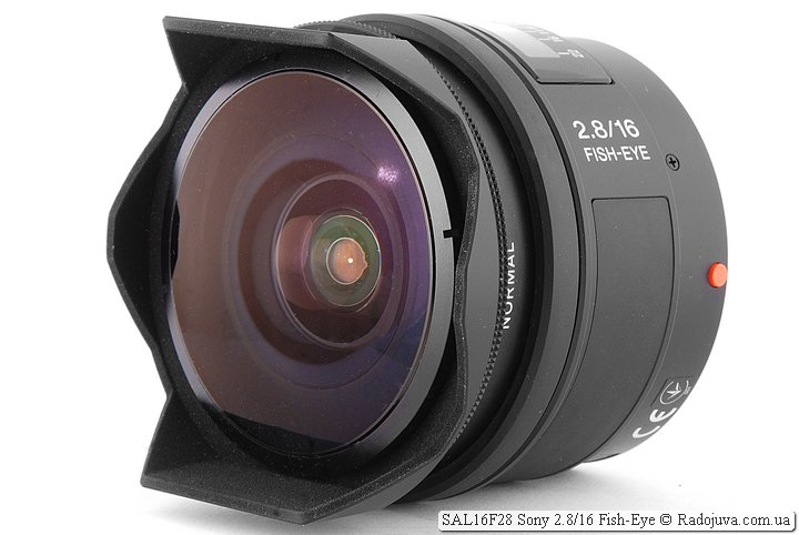 Обзор Sony 2.8/16 Fish-Eye SAL16F28
