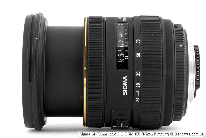 Sigma 24-70mm 1:2.8 EX DG HSM