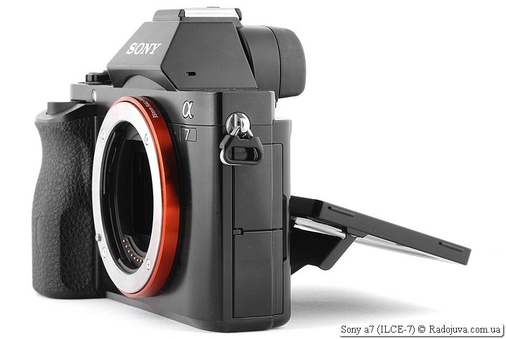 Sony a7 side view