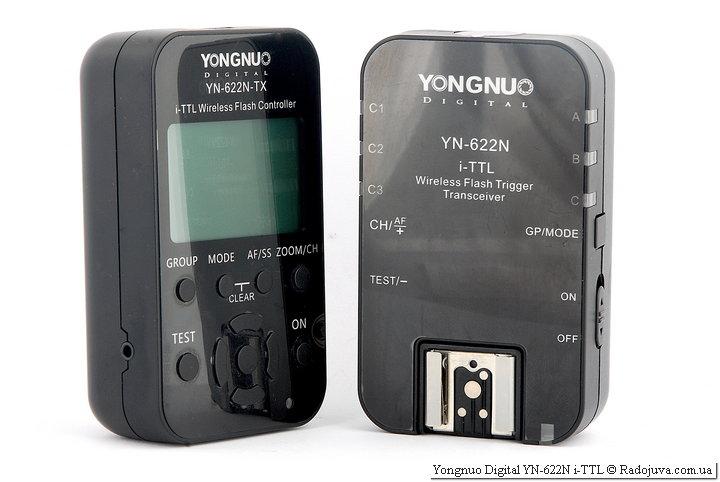 Обзор радиосинхронизатора Yongnuo Digital YN-622N