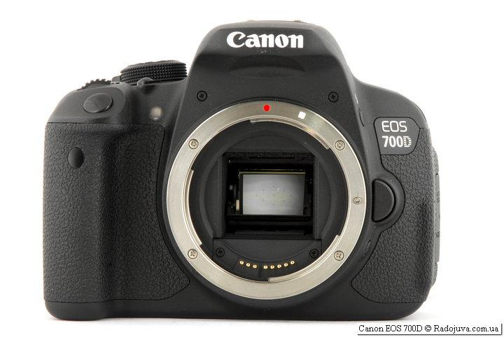 Обзор Canon 700D