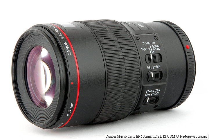 Обзор Canon Macro Lens EF 100mm 1:2.8 L IS USM