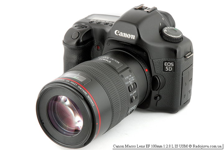 Canon Macro Lens EF 100mm 1:2.8 L IS USM
