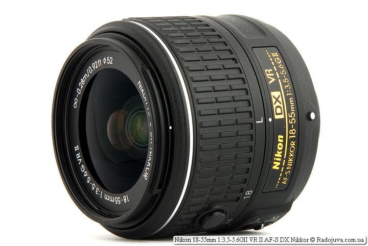 Обзор Nikon 18-55mm 1:3.5-5.6GII VR II AF-S DX Nikkor