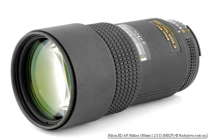 Обзор Nikon 180mm 1:2.8D ED AF Nikkor MKIV