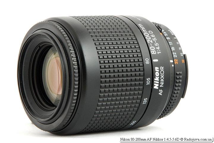 Обзор Nikon 80-200mm AF Nikkor 1:4.5-5.6D